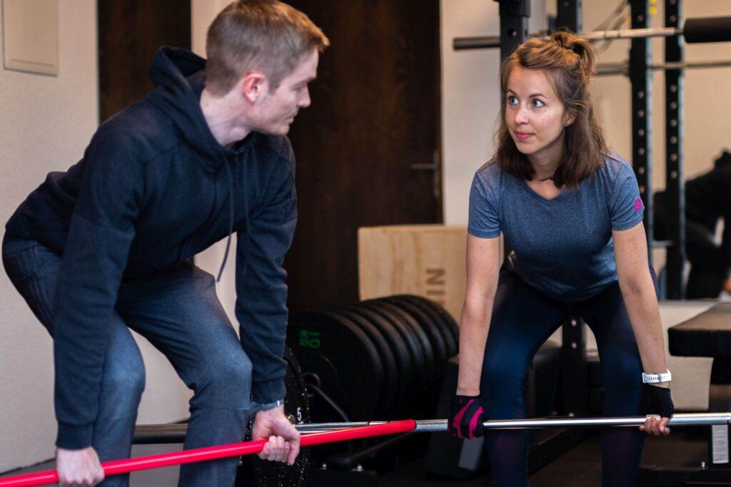 Personal Training, persönlich betreutes 1:1 Training